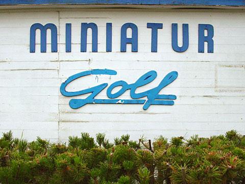 Miniatur Golf 01