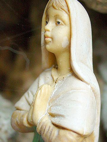 Childlike madonna