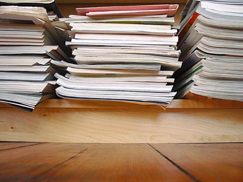 Packs of magazines
