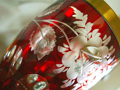 Red goblet
