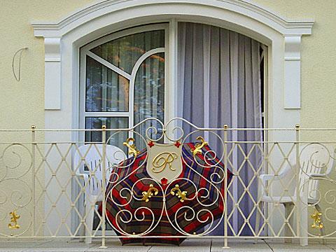 Umbrella on the Balcony