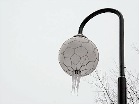 Lamp with Icicles