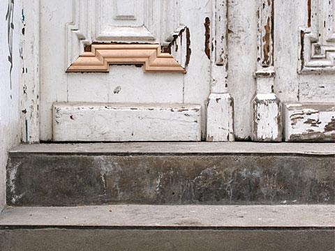 Repaired Door