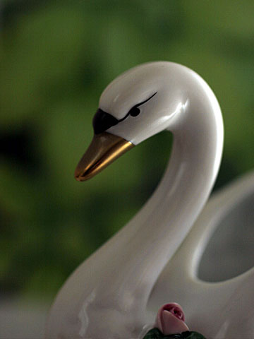 Porcelain Swan