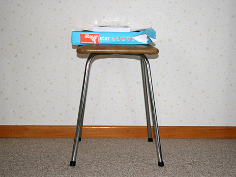 Stool with Paper