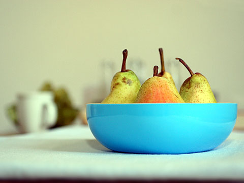 Pears in Autumn 02