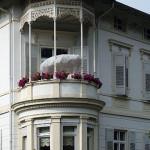 parasol on balconyl