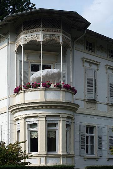 Parasol on Balcony