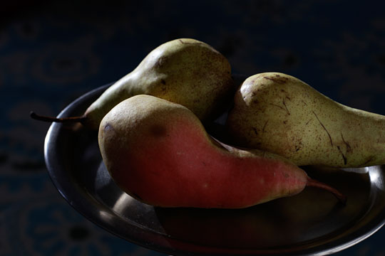 Pears in the Dark