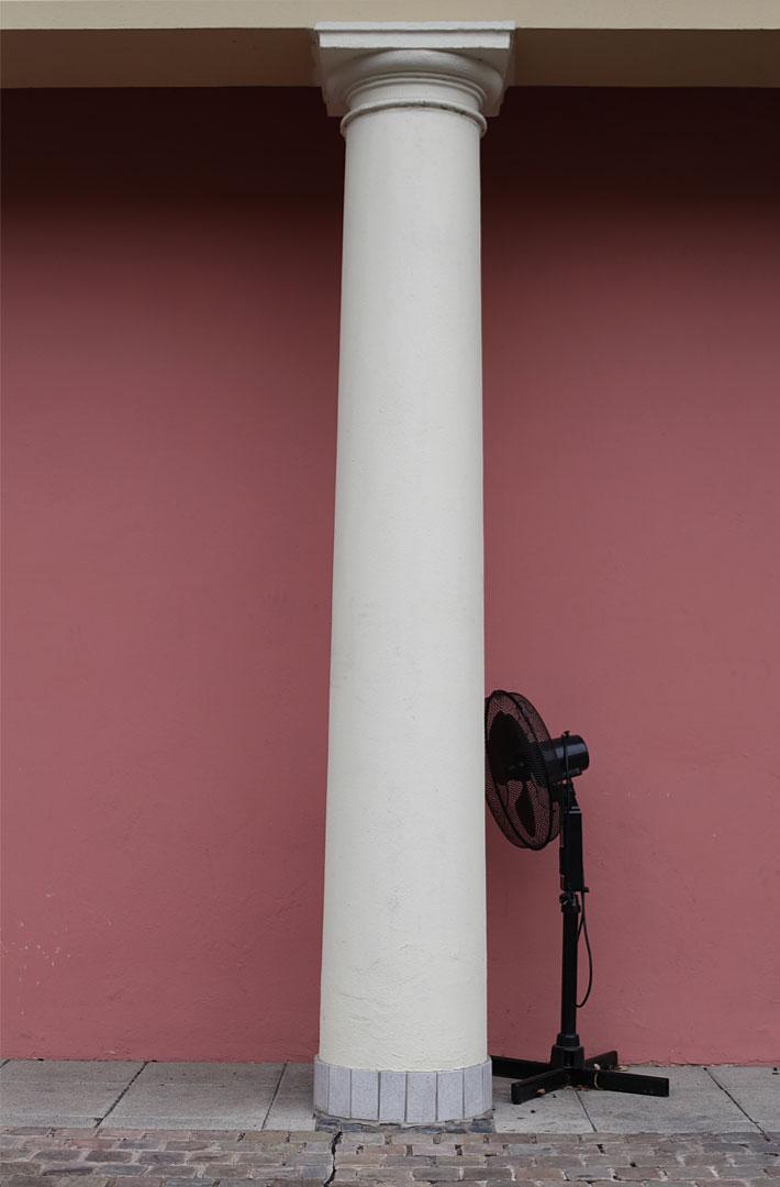 Fan meets Pillar