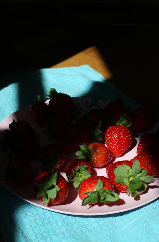 Strawberry Poetry